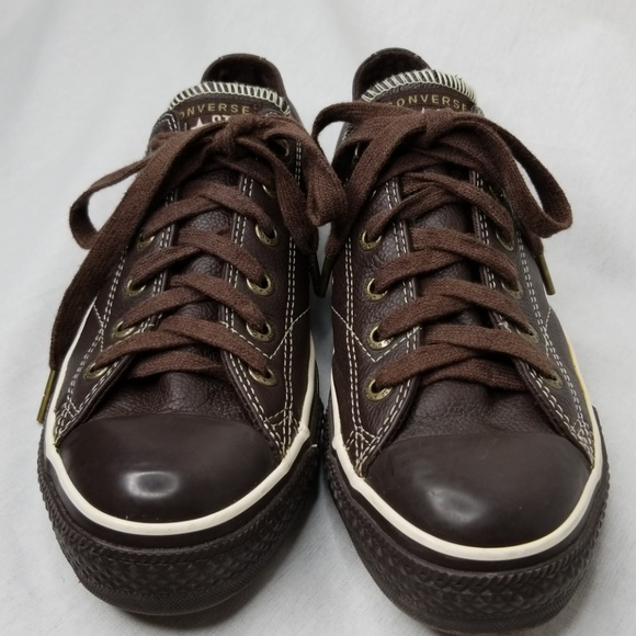 Converse Shoes   Leather Upper Mens 65